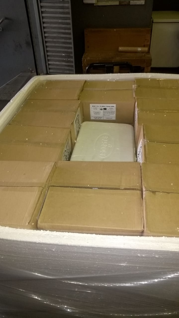 Acai from Brazil Cargo Pallet