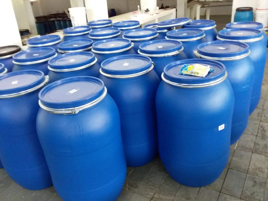 Barrels for Pepper Exportation